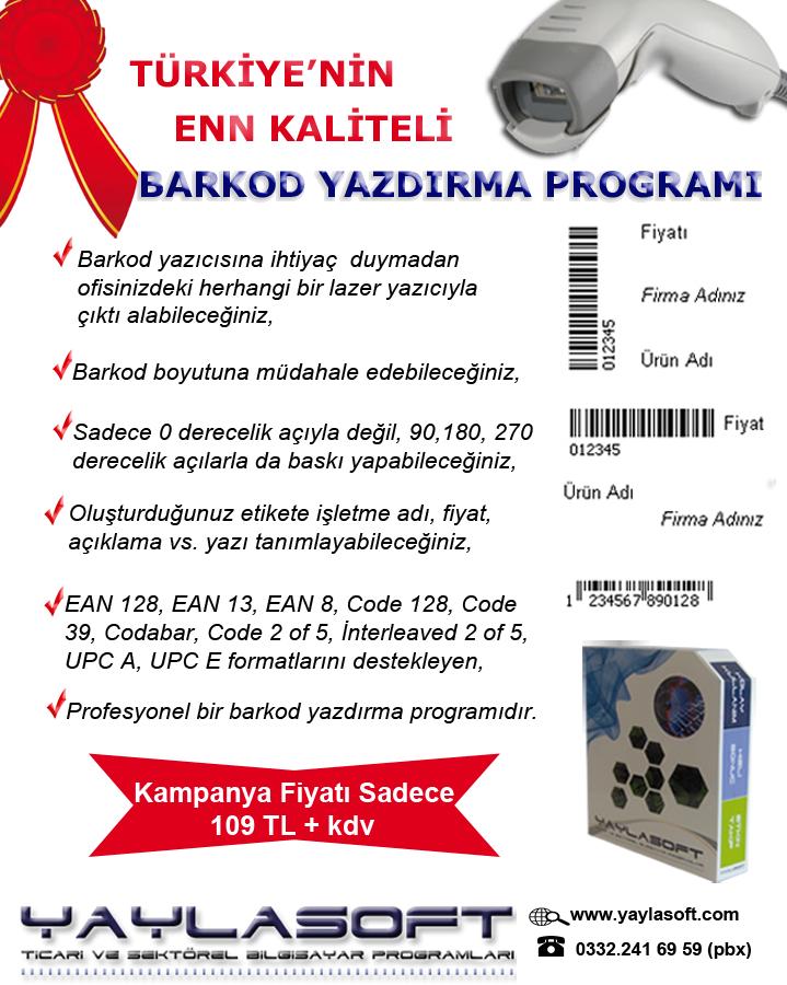 Türkiyenin Enn Kaliteli Barkod Yazdırma Programı
